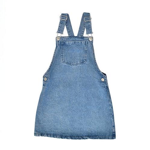 8Y | NEXT | אוברול חצאית ג'ינס