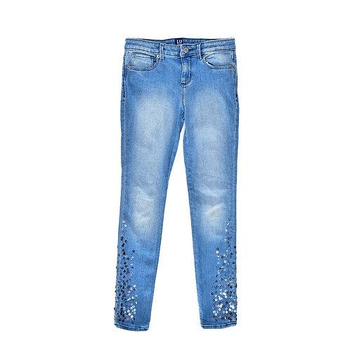 9-10Y | GAP | מכנסי ג'ינס פאייטים