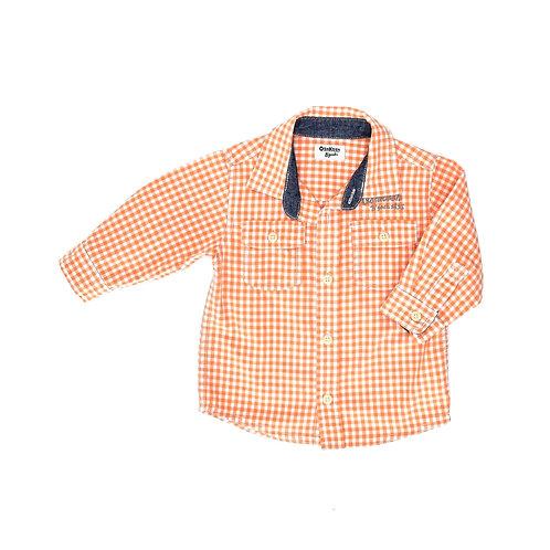 12M | OshKosh  | חולצת תפוז