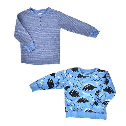 2-3Y   NEXT   זוג חולצות דינו