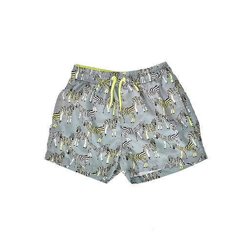 8-9Y   MINOTI   מכנסי בגד ים זברות
