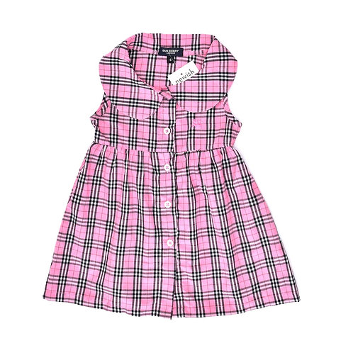 12-18M | שמלת ברברי ורודה