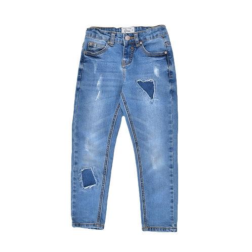 5-6Y | VIRUS | מכנסי ג'ינס טלאים