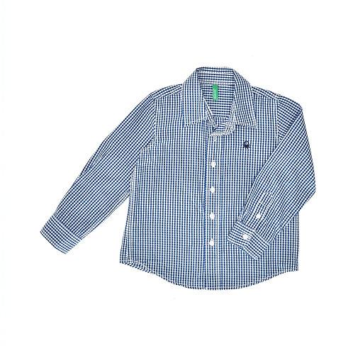 3-4Y | Benetton | חולצת משבצות