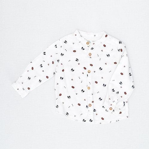 12-18M | ZARA | חולצה מכופתרת בולדוג