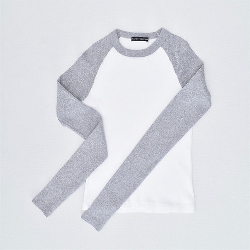 9-10Y | BRANDY MELVILLE | חולצה ריב מחבקת