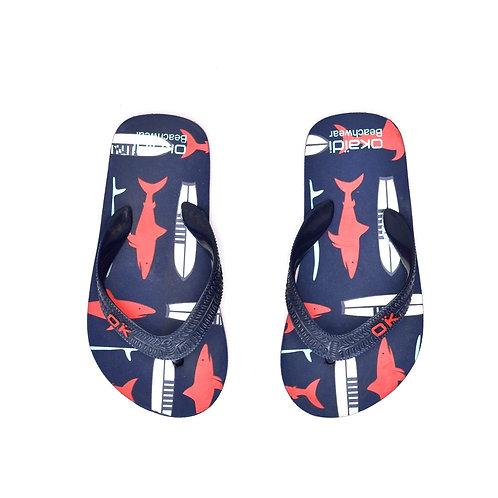 Size 25-26   OKAIDI   כפכפי אצבע כרישי