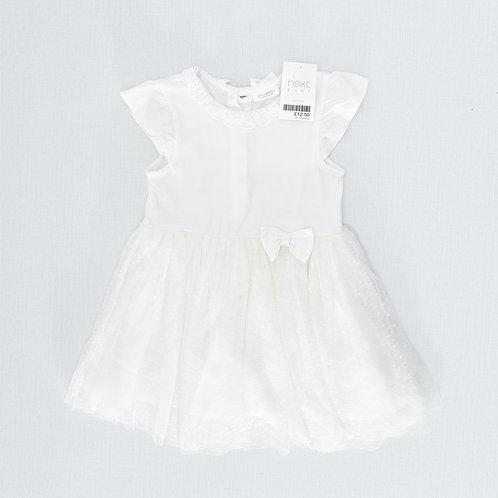 9-12M   NEXT   שמלת טול חגיגית