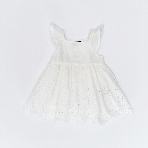 3-6M | GAP | שמלת תחרה לבנה