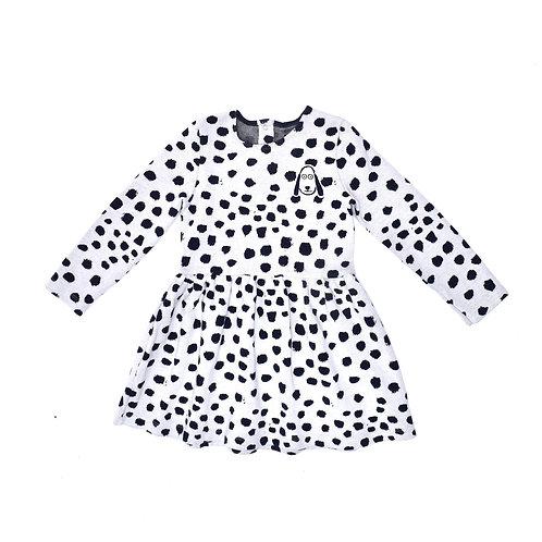 3-4Y | Petit Bateau | שמלה דלמטית
