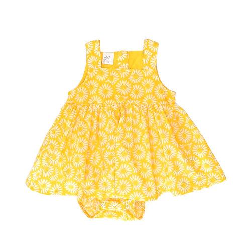 3-6M | H&M | בגד גוף עם שמלת מרגניות