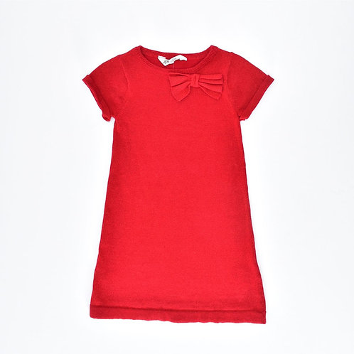 6-8Y | H&M | שמלה באדום מנצנץ