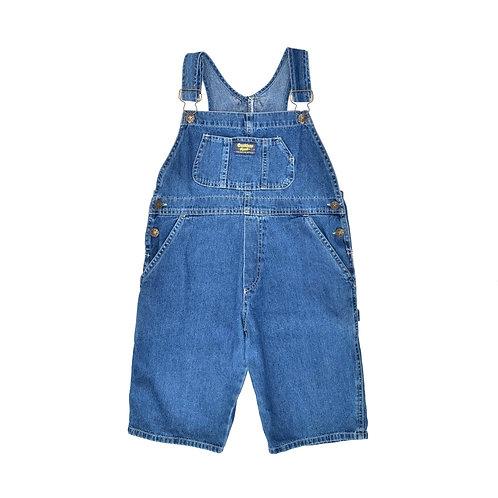10Y | OshKosh  | אוברול ג'ינס קצר