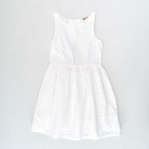 7-8Y | H&M | שמלת תחרה צורנית