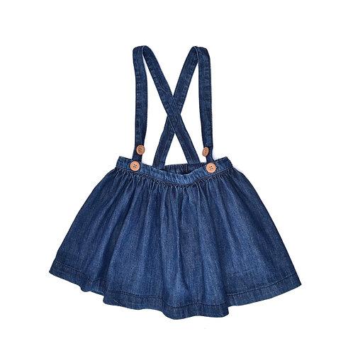 2-3Y   NEXT   חצאית ג'ינס בשלייקס