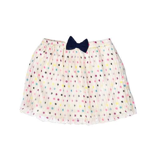 7-8Y | H&M | חצאית פליסה מנוקדת