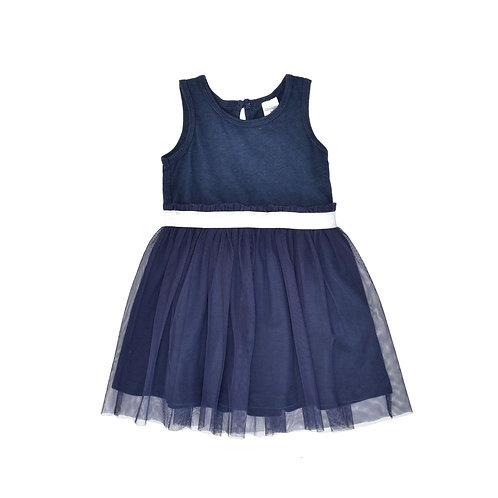 18M | OSHKSH | שמלת טול כחולה