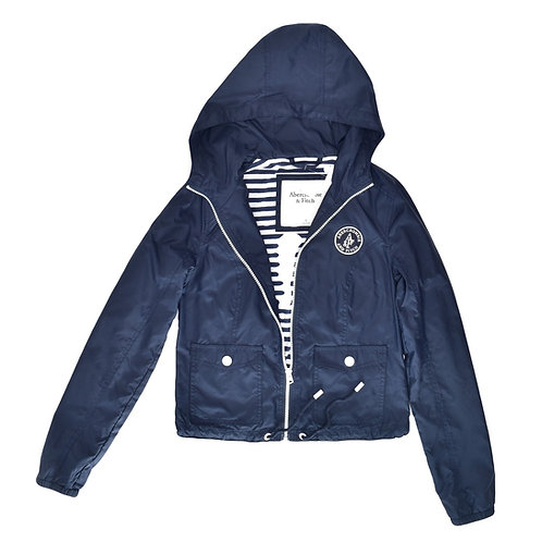 11Y | Abercrombie | מעיל ניילון כחול