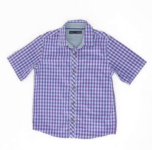 4-5Y |  NEXT | חולצה משבצות חציל
