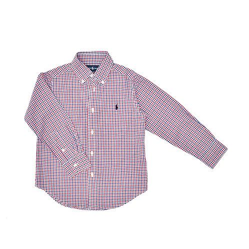 4Y   Ralph Lauren   חולצת משבצות