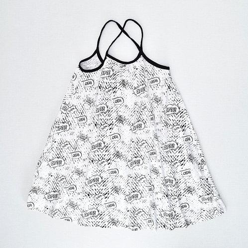 8-9Y | GOLF | שמלת סטיקרים