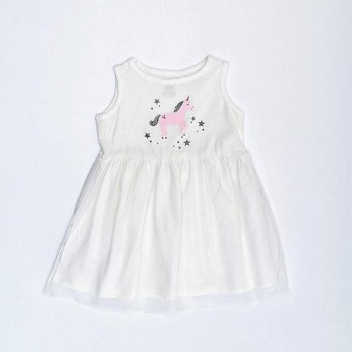 12M | Carter's | שמלת טול חד קרן