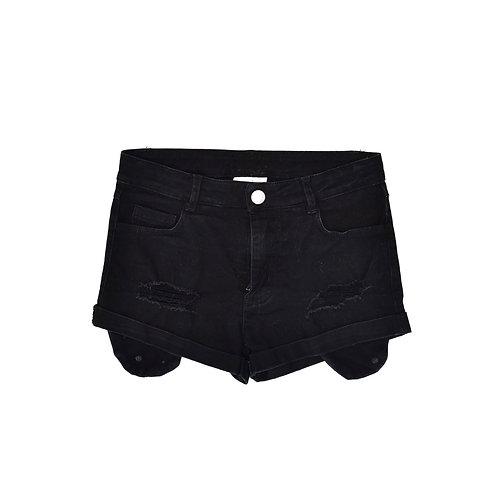 6Y   MINENE   מכנסי ג'ינס שחורים