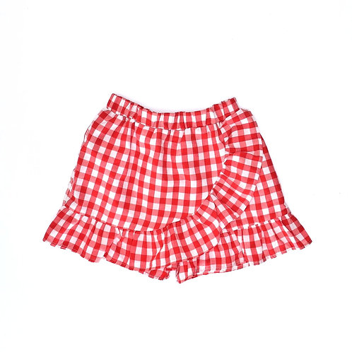 7-8Y   LC WAIKIKI  חצאית מכנס פפיטה