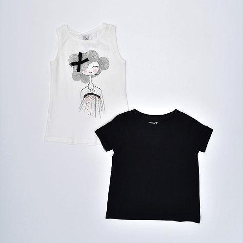 4Y | NEXT/ZARA | זוג חולצות מתולתלת