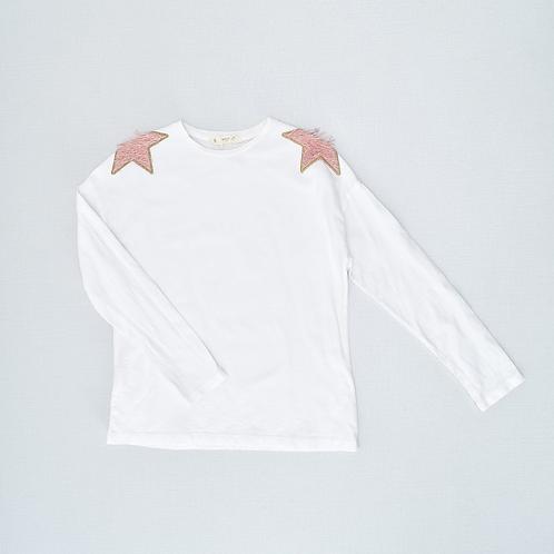 9-10Y | MANGO | חולצת כותפות