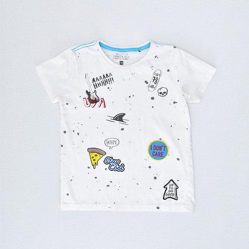6-7Y | Tamnoon | חולצת סטיקר