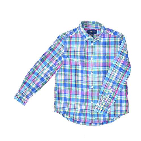 7Y | Ralph Lauren | חולצה משובצת