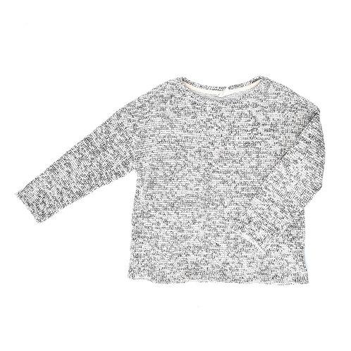 9-10Y  ZARA   חולצת סריג מלאנז