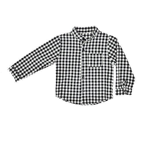 2-3Y | חולצה בשחור לבן