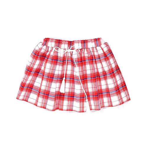 4-5Y | Sweet Girl Shop | חצאית משובצת