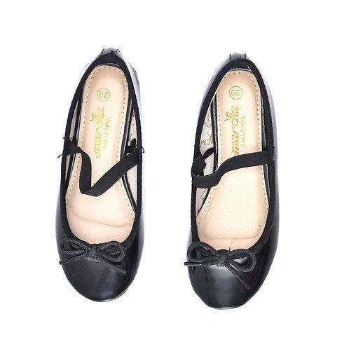 Size 29 | Marcha Ballerina | נעלי בובה שחורות