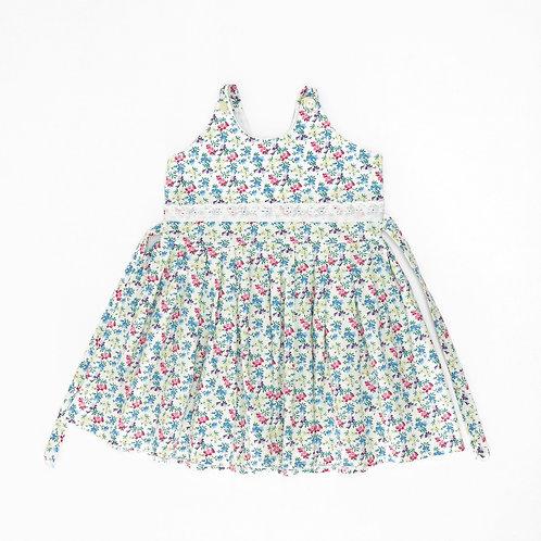 12-18M    שמלה פרחונית   וינטאג