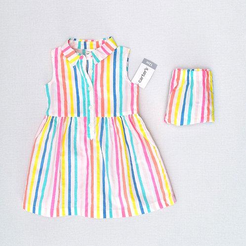 12M | Carter's | שמלת פסים