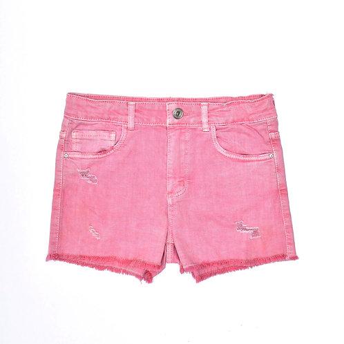 11-12Y| ZARA | מכנסי ג'ינס ורודים