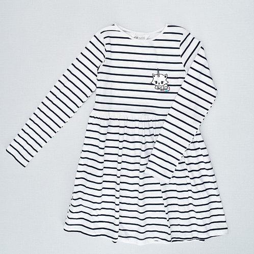 9-10Y   H&M   שמלת חתול חד קרן