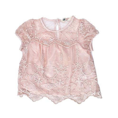 3-4Y   H&M   חולצת תחרה