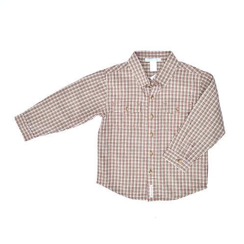 3Y | Janie & Jack | חולצת משבצות או לא להיות