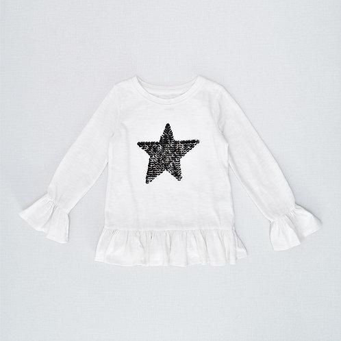4-5Y   Cat & Jack    חולצת כוכב הצפון