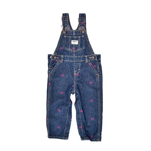 18M | OshKosh | אוברול ג'ינס