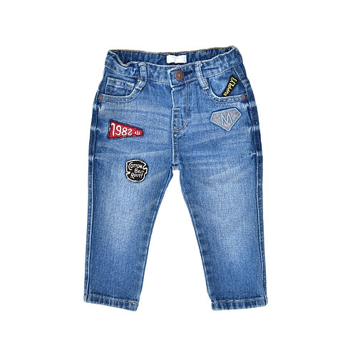 9-12M | MANGO | מכנסי ג'ינס פאטצ'ים
