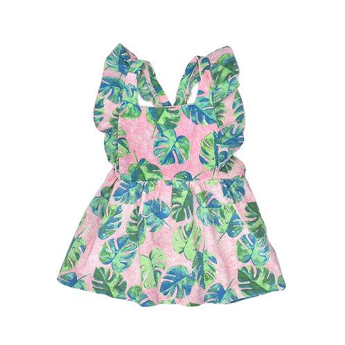 6-9M | ZARA | שמלה טרופית