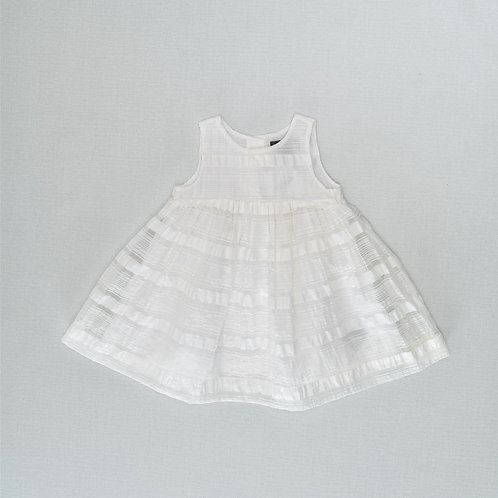 12-18M  GAP   שמלת לילה לבן