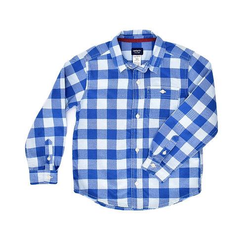 5Y | Carter's | חולצה משובצת