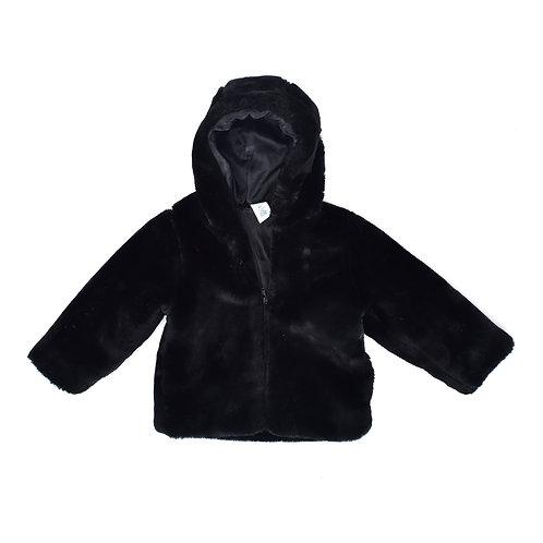3Y | Old Navy | מעיל פרווה שחור
