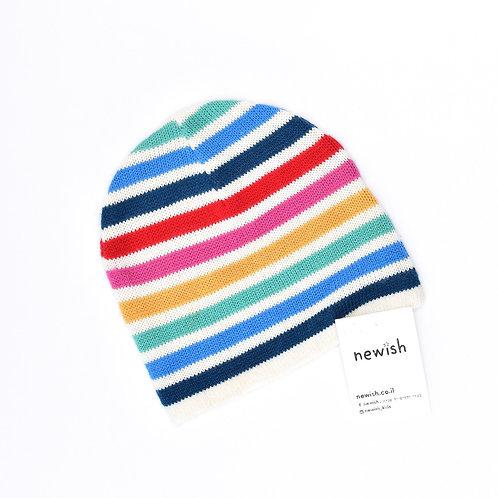 4-8Y |  CASTRO | כובע סריג צבעוני